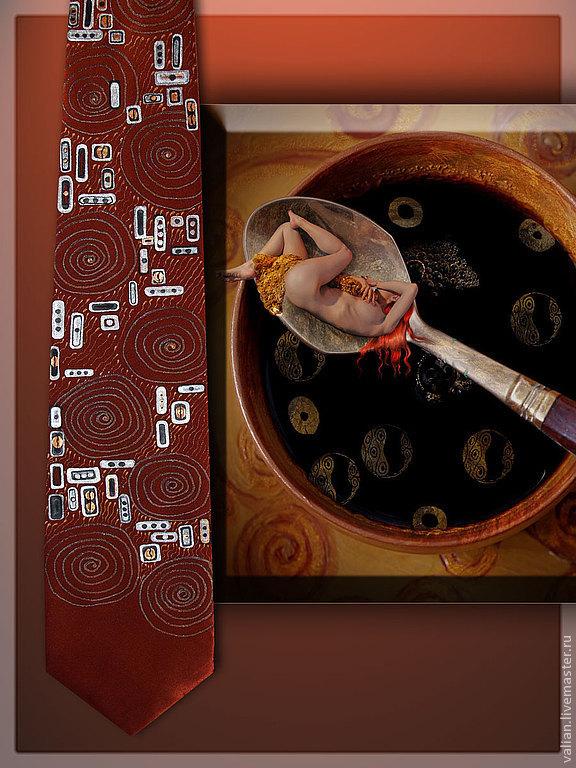 Tie Klimt 'Coffee', Ties, Moscow,  Фото №1