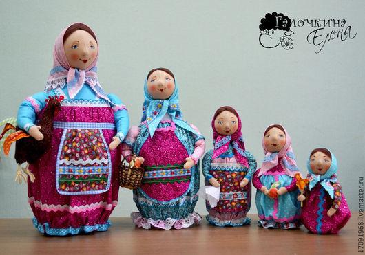 Коллекционные куклы ручной работы. Ярмарка Мастеров - ручная работа. Купить Матрешка. Handmade. Кукла ручной работы, авторская кукла