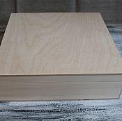 Материалы для творчества ручной работы. Ярмарка Мастеров - ручная работа Шкатулка большая 05Б. Handmade.
