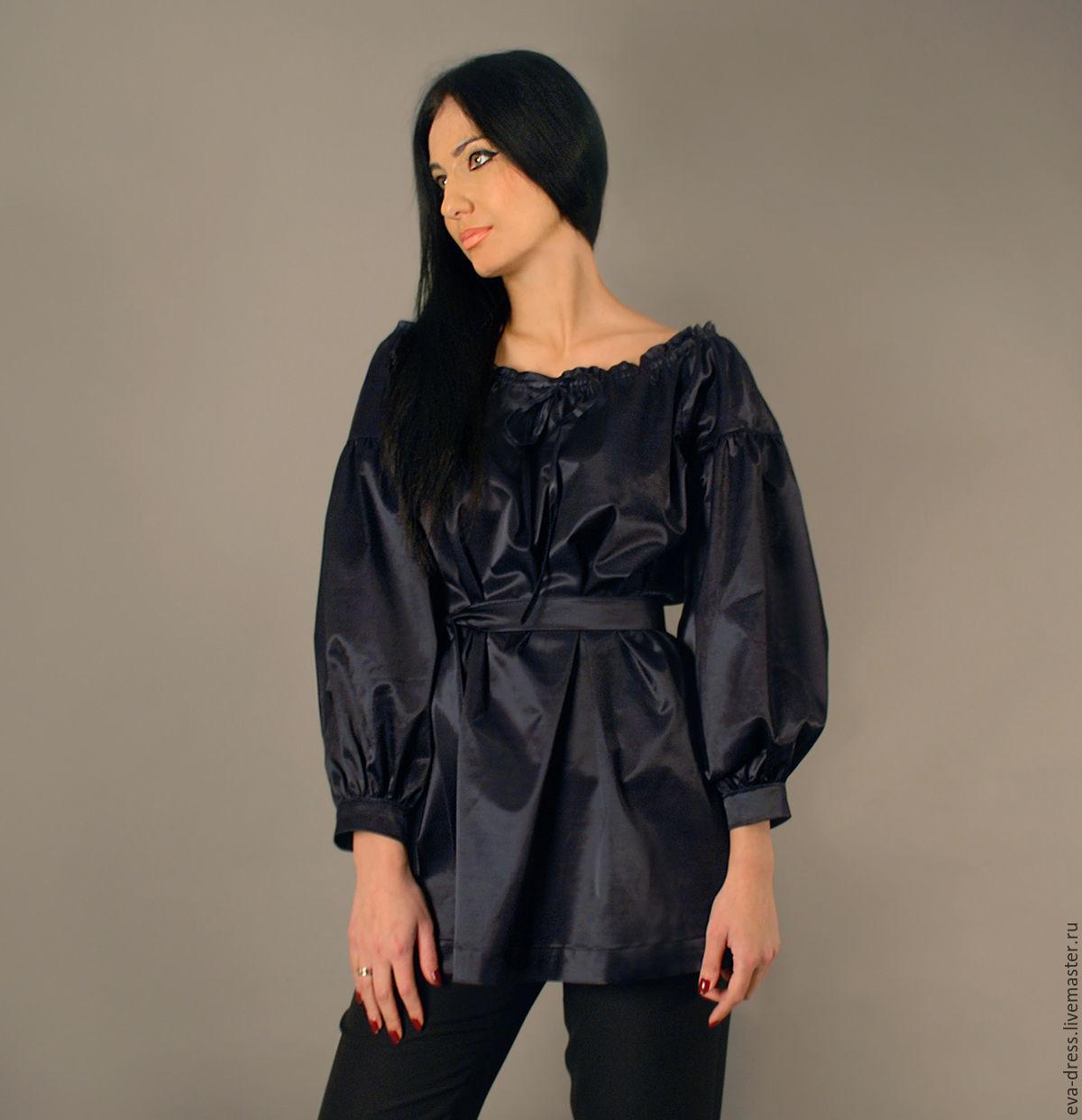 30f8ad207b8 Блузки ручной работы. Ярмарка Мастеров - ручная работа. Купить Нарядная  блузка с пышными рукавами ...