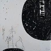 Картины и панно ручной работы. Ярмарка Мастеров - ручная работа White sound (Белый звук). Handmade.