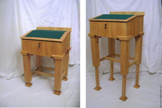 Детская ручной работы. Ярмарка Мастеров - ручная работа. Купить Письменный стол-конторка. Handmade. Конторка, бук