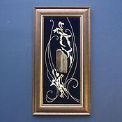 Картины и панно ручной работы. Ярмарка Мастеров - ручная работа Коллаж с окаменелым деревом № 771. Handmade.
