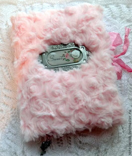 """Блокноты ручной работы. Ярмарка Мастеров - ручная работа. Купить Блокнот ручной работы """"Sweet"""". Handmade. Розовый, блокнот скрапбукинг"""