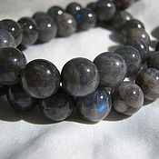 Материалы для творчества handmade. Livemaster - original item Labradorite beads 10mm, smooth ball. Handmade.