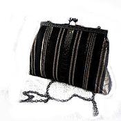 Сумки и аксессуары handmade. Livemaster - original item clutch striped. Handmade.