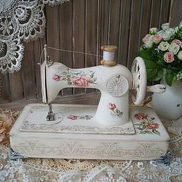 """Для дома и интерьера ручной работы. Ярмарка Мастеров - ручная работа """"ROSE""""-детская швейная машинка. Handmade."""