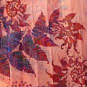 Аксессуары handmade. Livemaster - original item silk batik pareo