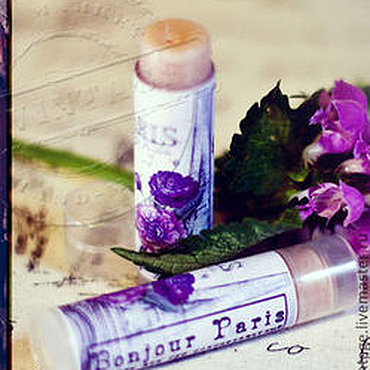 """Косметика ручной работы. Ярмарка Мастеров - ручная работа """"Париж, Париж!"""" бальзам для губ. Handmade."""