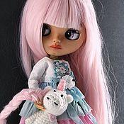 Кастом ручной работы. Ярмарка Мастеров - ручная работа Кукла Блайз Blythe - куколка «Leya». Handmade.