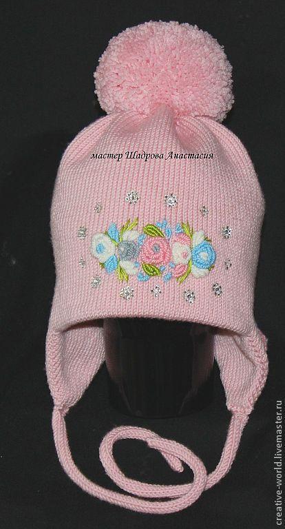 Шапки и шарфы ручной работы. Ярмарка Мастеров - ручная работа. Купить теплая детская мериносовая шапочка. Handmade. Мериносовые шапочки