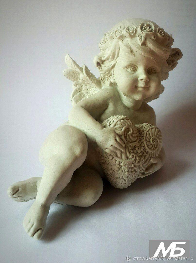 Ангел скульптура своими руками Магия Воды. Челябинск. Cадовые фигуры. Античные
