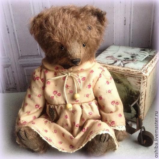Мишки Тедди ручной работы. Ярмарка Мастеров - ручная работа. Купить Глаша. Handmade. Коричневый, мишки, мишка ручной работы