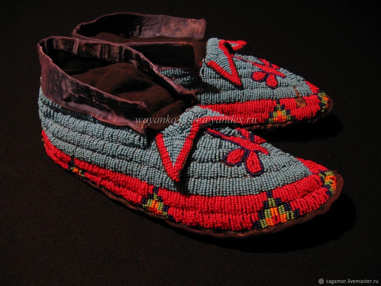 фото индейских мокасин бедрах девушки подкова