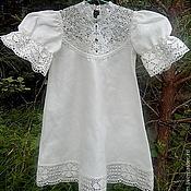 Крестильное платье Вологодское кружево 216