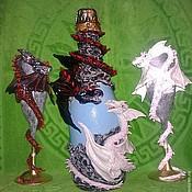 """Свадебный салон ручной работы. Ярмарка Мастеров - ручная работа Свадебный набор  """"Душа дракона"""". Handmade."""