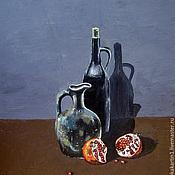 """""""Грузинское вино"""" картина маслом"""