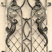 Двери ручной работы. Ярмарка Мастеров - ручная работа Кованая решетка для двери.. Handmade.