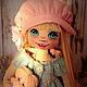 Коллекционные куклы ручной работы. Ярмарка Мастеров - ручная работа. Купить Девочка с куколкой.. Handmade. Кукла, кукла в подарок