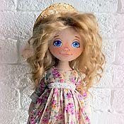 """Куклы и игрушки ручной работы. Ярмарка Мастеров - ручная работа Текстильная кукла """"Летняя"""". Handmade."""