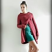 """Одежда ручной работы. Ярмарка Мастеров - ручная работа вязаное пальто-кардиган """"Одри"""". Handmade."""