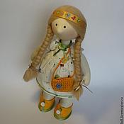 Куклы и игрушки ручной работы. Ярмарка Мастеров - ручная работа Кукла Снежка девочка Лето. Handmade.