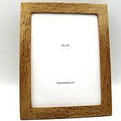 Сувениры и подарки handmade. Livemaster - original item Photo frame made of Karelian birch 18 x 24. Handmade.