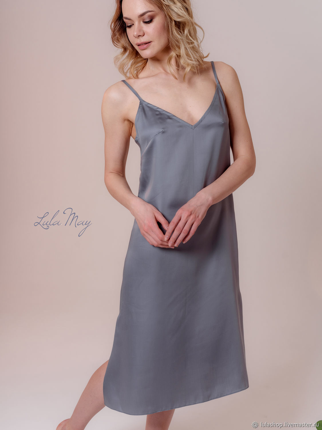 The dress is a combination of 'Basic' from tensile grey, Dresses, Balashikha,  Фото №1