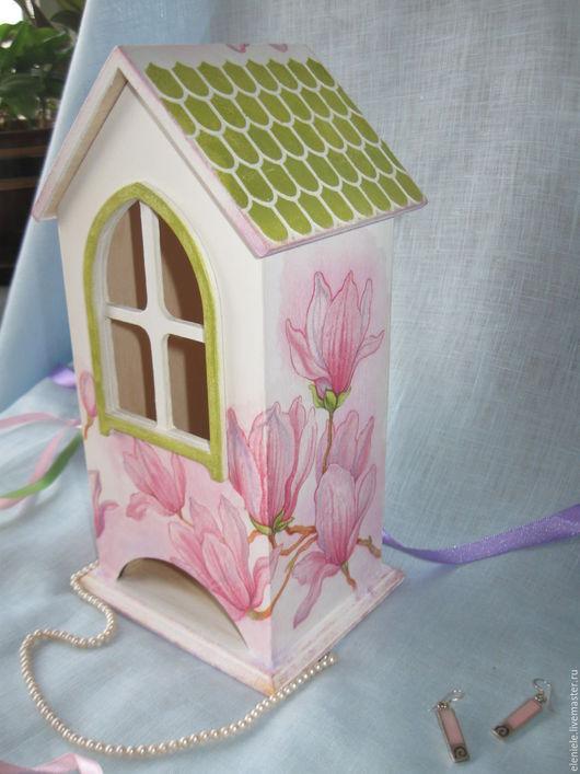 Кухня ручной работы. Ярмарка Мастеров - ручная работа. Купить Чайный домик Весеннее настроение. Handmade. Розовый, подарок женщине