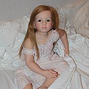 Куклы и игрушки ручной работы. Ярмарка Мастеров - ручная работа кукла-реборн  из молда Аленка от Натали Блик. Handmade.