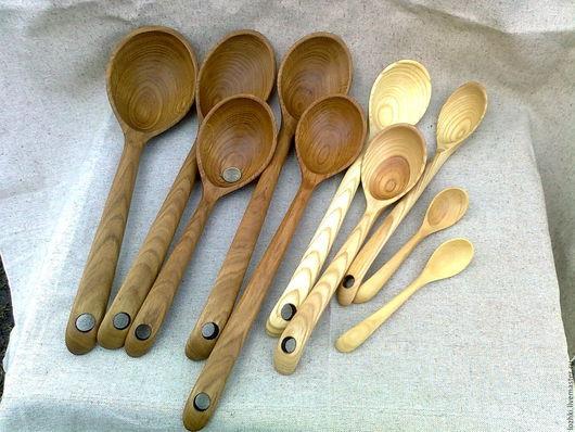Кухня ручной работы. Ярмарка Мастеров - ручная работа. Купить ложки. Handmade. Комбинированный, ложки для еды, кухонная утварь, кулинария