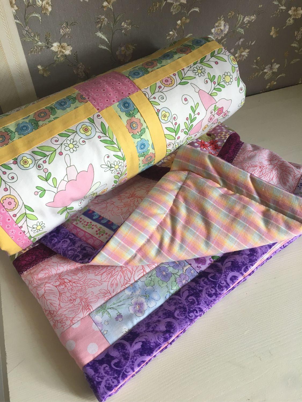 baby blanket: Quilt patchwork for baby 'Thumbelina' 104h100, Baby blanket, Mytishchi,  Фото №1
