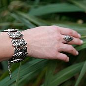 Украшения handmade. Livemaster - original item Bracelet Steppe of dew. Handmade.