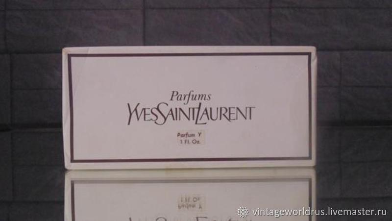 Винтаж: Винтажные духи Yves Saint Laurent Y – купить на Ярмарке Мастеров – H4ZZBRU | Духи винтажные, Москва