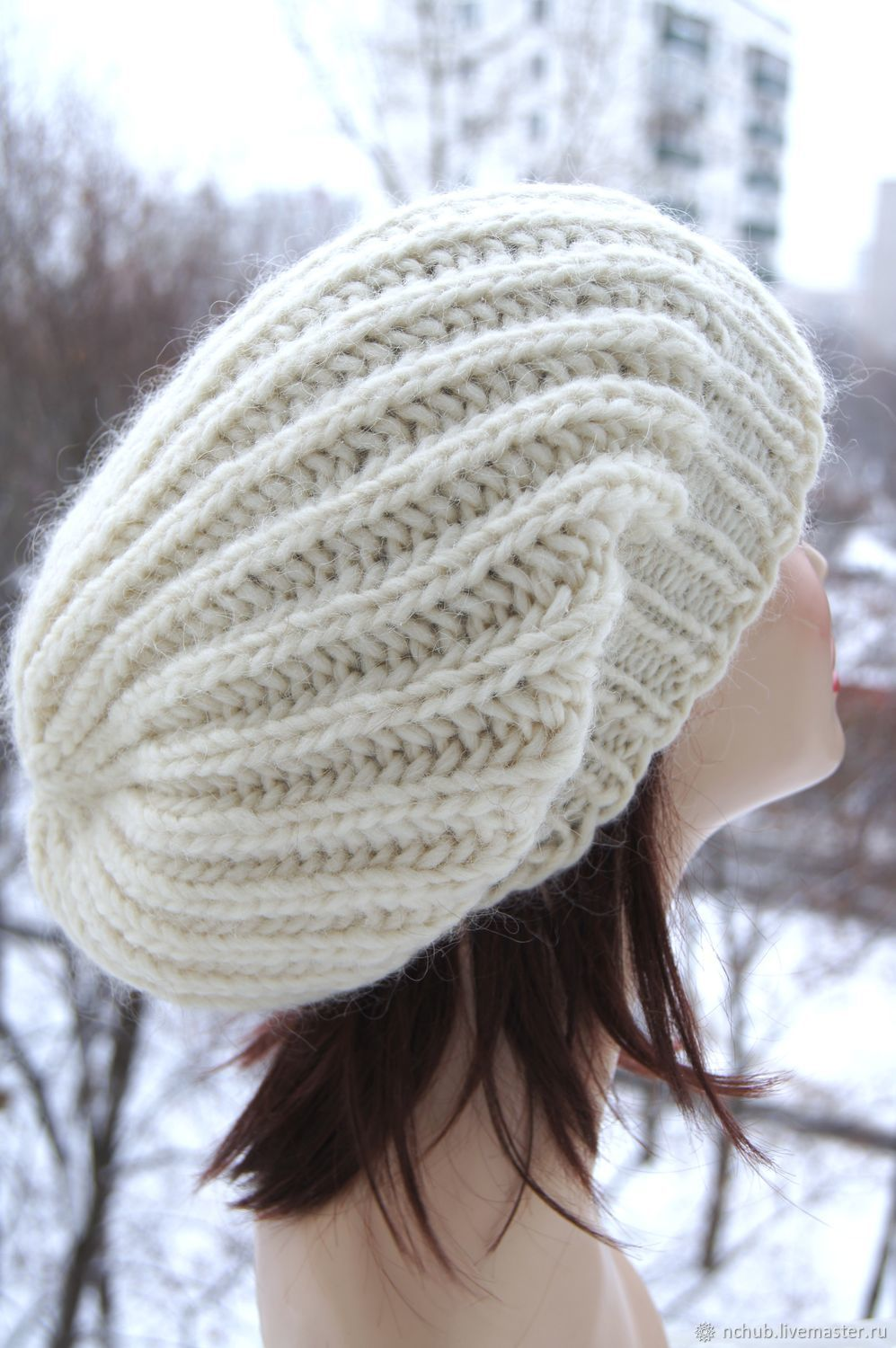 725656d632a4a Little pleasures · Berets handmade. Order Takes the White knit bulk from  thick Icelandic wool 100.
