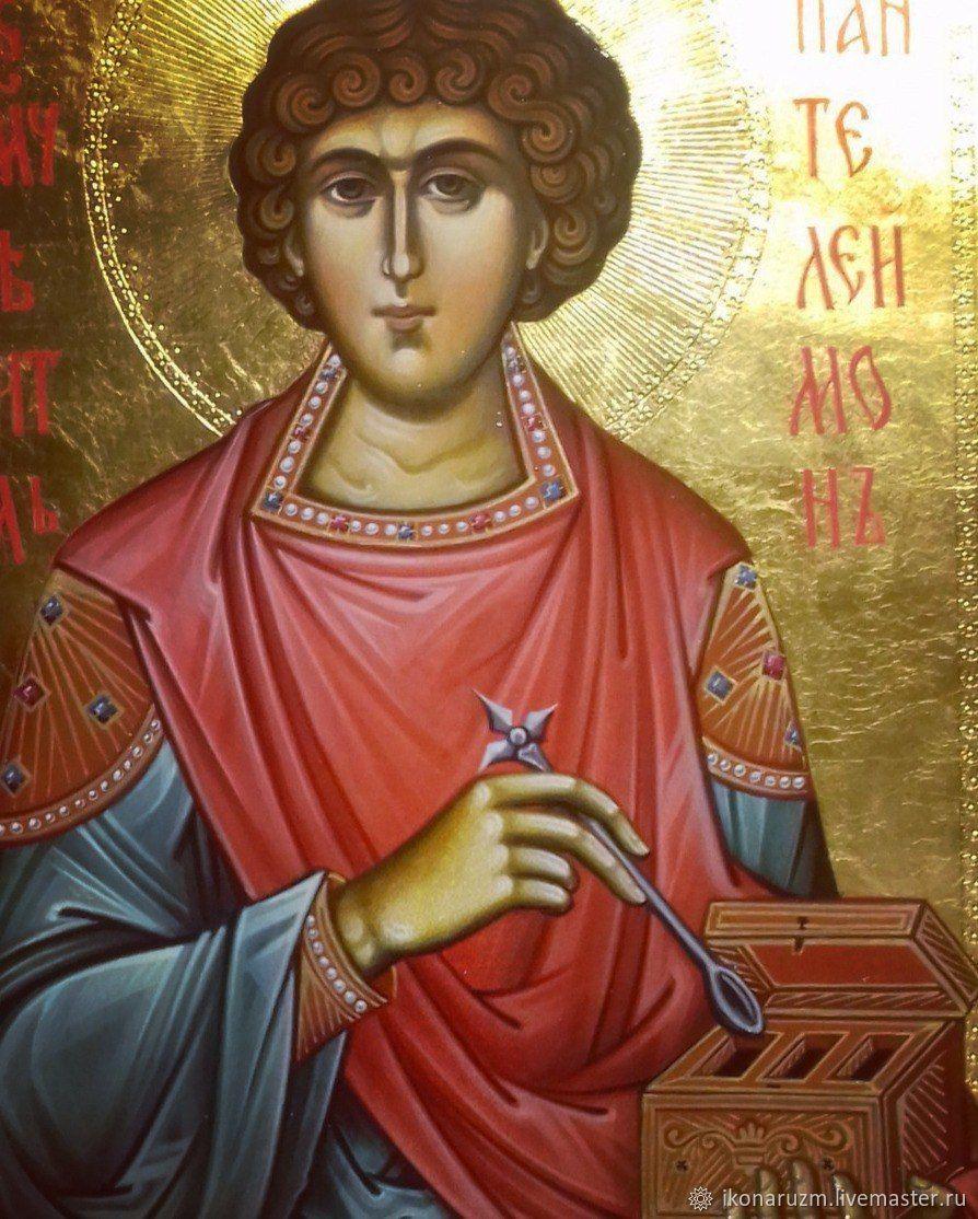Картинки иконы пантелеймон