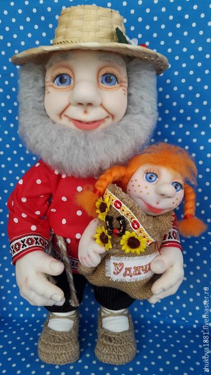 Народные куклы ручной работы. Ярмарка Мастеров - ручная работа. Купить Домовой.Хранитель домашнего очага.. Handmade. Разноцветный, удача