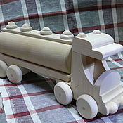Куклы и игрушки ручной работы. Ярмарка Мастеров - ручная работа Бензовоз. Handmade.