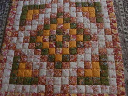 """Пледы и одеяла ручной работы. Ярмарка Мастеров - ручная работа Лоскутное одеяло"""" Краски лета"""". Handmade."""