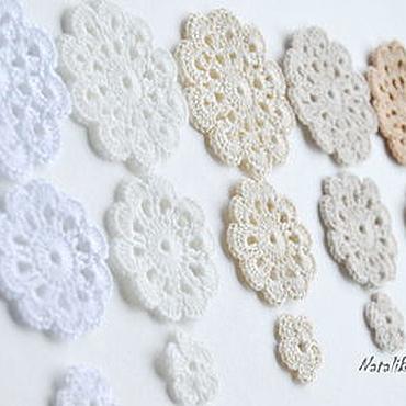Materials for creativity handmade. Livemaster - original item A set of knitted items, cotton. Handmade.