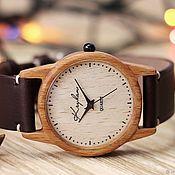 Украшения handmade. Livemaster - original item Wooden watches, women`s watches, beech, 02I3530BB. Handmade.