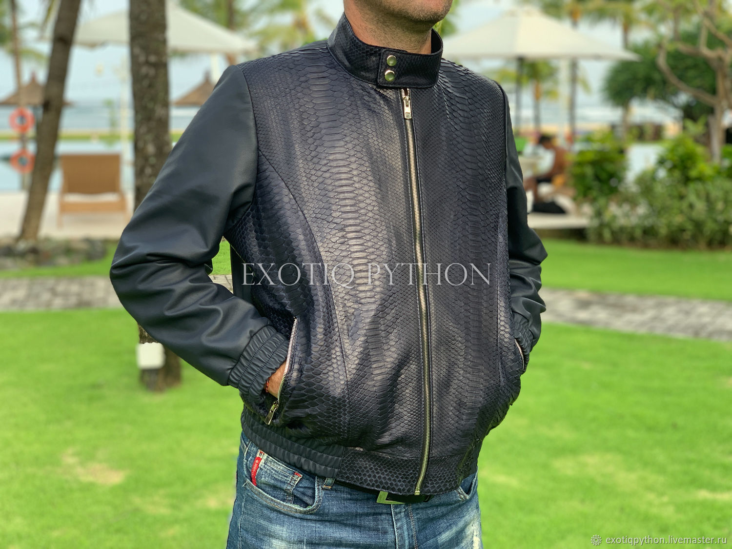 Men's jacket from Python, Mens outerwear, Moscow,  Фото №1