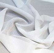 Материалы для творчества ручной работы. Ярмарка Мастеров - ручная работа Белая тонкая блузочная ткань. Handmade.