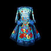 """Одежда ручной работы. Ярмарка Мастеров - ручная работа Платье-Пано """"Женева-винтаж"""". Handmade."""