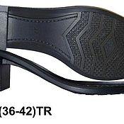 Материалы для творчества handmade. Livemaster - original item No. 11 Sole tha womens for street heels (black). Handmade.