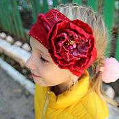 """Аксессуары ручной работы. Ярмарка Мастеров - ручная работа Детская повязка на голову """"Конфетти"""". Handmade."""