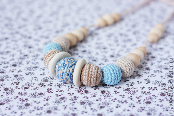Slingobusy pastel with wooden rings, Slingbus, Ryazan,  Фото №1