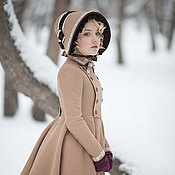 Одежда handmade. Livemaster - original item Winter children`s coat in the style of