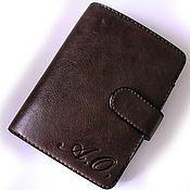 Подарки к праздникам ручной работы. Ярмарка Мастеров - ручная работа Хороший бумажник, для хорошего человека! :-). Handmade.