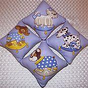 Для дома и интерьера ручной работы. Ярмарка Мастеров - ручная работа Ароматическая мини-подушечка-саше с липовым цветом. Детская сплюшка. Handmade.